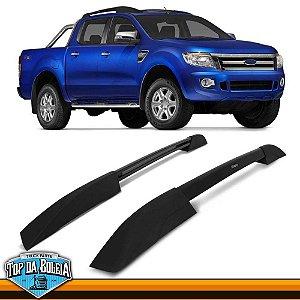 Rack Longarina de Teto Executive Preto para Ford Ranger à partir de 2013