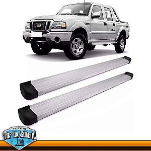 Estribo Lateral Elegance G3 Polido para Pick-up Ford Ranger Inferior á 2012