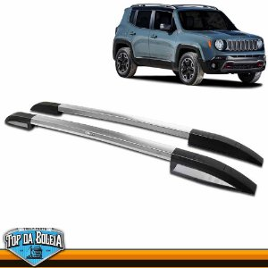 Rack Longarina de Teto Executive Polido para Jeep Renegade