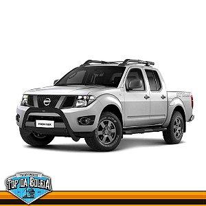 Quebra Mato Universal Elegance com Barra Preto para Nissan Frontier de 2008 à 2015