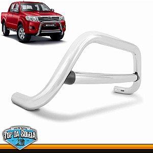 Quebra Mato Universal Elegance Com Barra Cromado para Toyota Hilux de 2006 à 2015