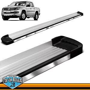 Estribo Alumínio Elegance G3 Polido para Pick-up Volkswagen Amarok Cabine Dupla