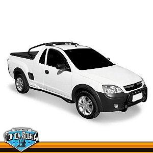 Quebra Mato Universal Preto para Caminhonete Chevrolet Montana Inferior à 2010
