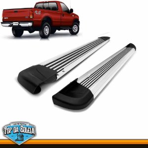 Estribo Alumínio G2 Polido para Pick-up Ford F-250 Cabine Simples