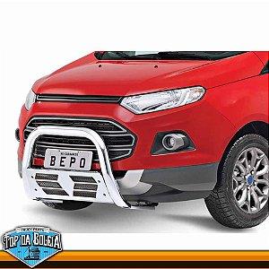 Quebra Mato Universal com Grade Horizontal Cromado para Ford Ecosport à partir de 2013