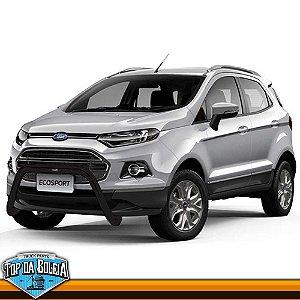 Quebra Mato Universal com Grade Vertical Preto para Ford Ecosport à partir de 2013
