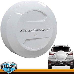 Capa de Estepe Branco Ártico para Ford Ecosport à partir de 2013