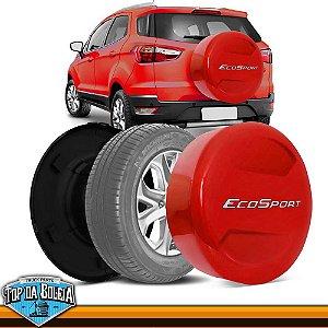 Capa de Estepe Vermelho Arpoador para Ford Ecosport à partir de 2013