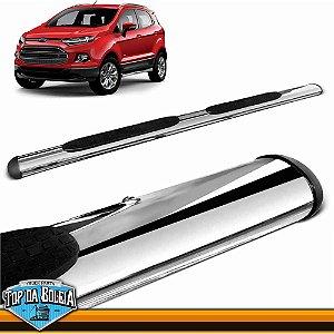 Estribo Alumínio Oval Cromado para Ford Ecosport à partir de 2013