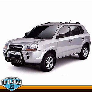 Quebra Mato Universal com Grade Preto Hyundai Tucosn de 2005 à 2015