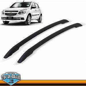 Rack  Longarina de Teto Preto para Chevrolet Agile