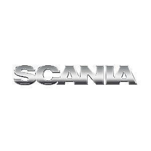 Emblema da Grade Cromado para Scania P S5 Antigo