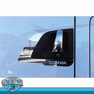 Moldura Inox Long Maçaneta de Porta Scania a Partir de 98