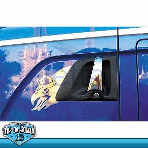 Moldura Inox de Porta Grifão P para Scania
