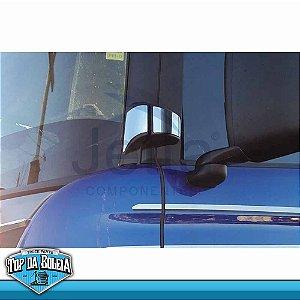 Aplique Inox Dobradiças da Porta Para Scania S5