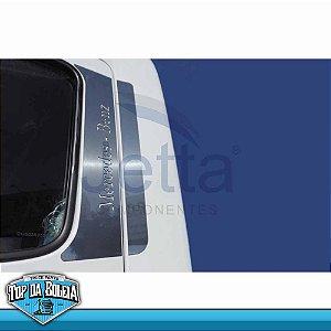 Conjuto em Inox Coluna da Porta para Mercedes Benz Atego / Axor