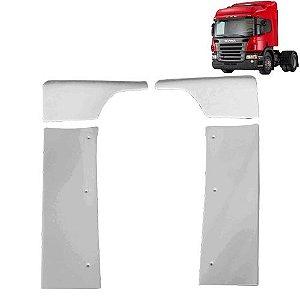Defletor de Ar Cegonheiro Caminhão Scania S4 S5 Cabine P sem filtro