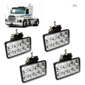 Farolete de Led Scania 112 113 4 Unidades 12V 24V