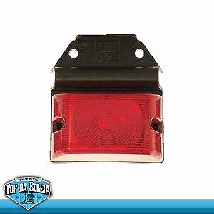 Lanterna Lateral com Lente Moderna e Suporte Flexível (1259/1) Ps Ambar