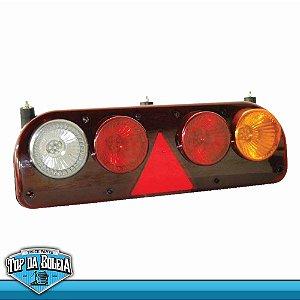 Lanterna Traseira Led Guerra (3001) Lado Esquerdo com Lampled 12v
