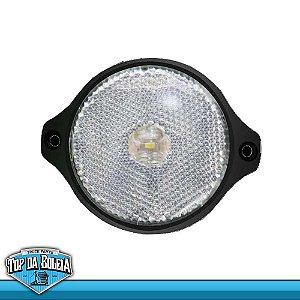Lanterna LED Posição Retrorrefletor (2017/sc) Acrílico AMBAR / Cristal / Rubi 24v