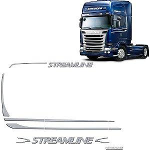 Conjunto Faixa Adesiva Scania Streamline