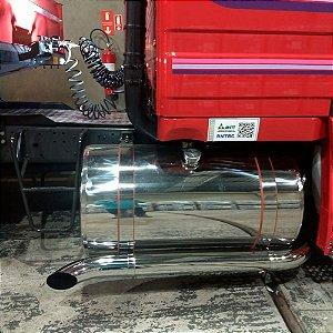 Tanque Inox 400 Litros completo