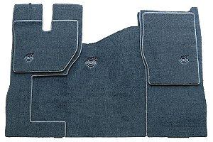 Jogo de tapetes para caminhão Volvo FH Carpete Luxo