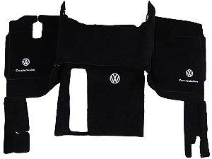 Jogo de tapetes para caminhão Volkswagen Constellation Carpete Luxo