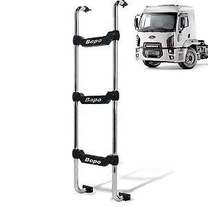 Escada traseira para caminhão Ford Cargo novo 2012 cabine baixa