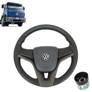 Volante esportivo para caminhão VW Titan c/cubo mod Cruze