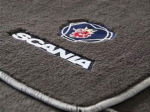 Jogo de tapetes para caminhão Scania 113 Carpete Luxo