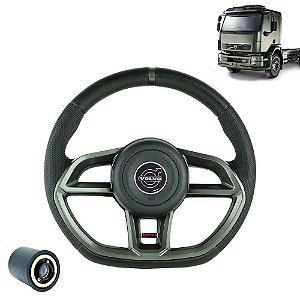 Volante esportivo para caminhão Volvo VM c/cubo mod Golf GTI