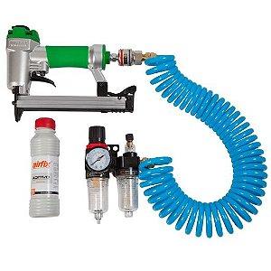 Ultra Kit Combo Grampeador Mangueira e Lubrifil 80W/16 Airfix