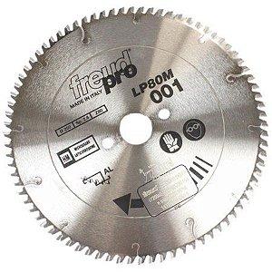 SERRA CIRCULAR PARA ALUMÍNIO 250mm x 30mm x 80 Dentes - LP80M001P - FREUD