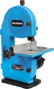 MICRO SERRA DE FITA DE BANCADA - 240 X 200MM, 250W, 1750RPM - GAMMA G121BR2