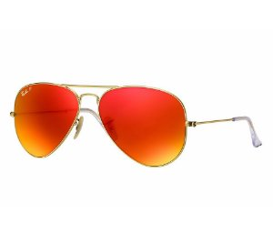 1a24653831461 RAY-BAN AVIADOR AVIATOR GRADIENTE DOURADO DEGRADÊ AZUL   MOON LIGHT ...