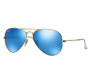 RAY-BAN AVIATOR FLASH LENSES - LENTES ESPELHADAS - RB3025L E RB3026L