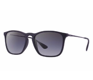 RAY BAN CHRIS GRADIENTE PRETO - RB4187L 622