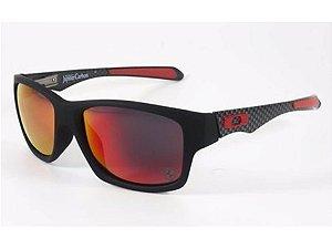 Oakley Jupiter Carbon 100% Polarizado Vermelho