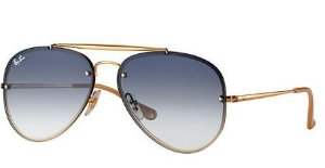 RAY BAN BLAZE AVIATOR Azul-claro Degradê RB3584