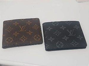 Carteira em couro Louis Vuitton 01 divisão interna