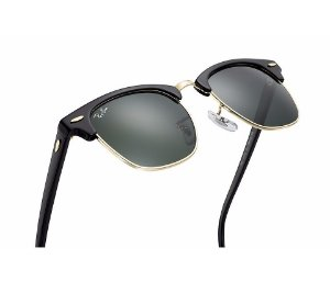 ccf063255fda3 RAY-BAN CLUBMASTER ALUMÍNIO - RB3016 - Óculos de sol   MoonLight Glasses