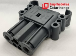 Conector Rema DIN - 160Ah Fêmea (25mm²)