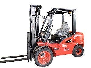 Empilhadeira FD30 Hangcha | 3.000 kg a Diesel | Empilhadeiras Catarinense