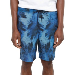 Shorts Elastano Hurley Burst Black / Blue