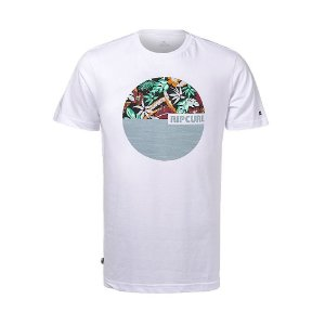 Camiseta Rip Curl Bass 1000 White