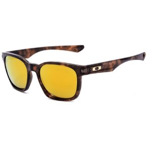 Óculos de Sol Oakley Garage Rock SW GLD Brown 24K Polarizado
