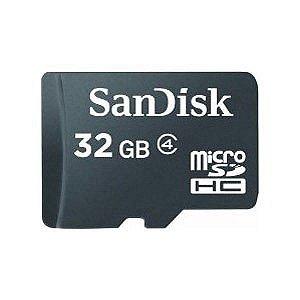 Cartão de Memoria  Sandisk SDSDQ-032G-P36A 32GB Micro SDHC