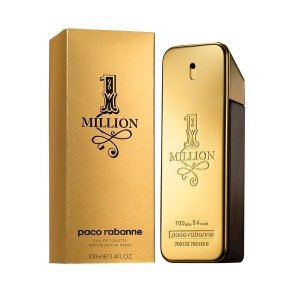 Perfume 1 Million Paco Rabanne Eau de Toilette Masculino 100 ml